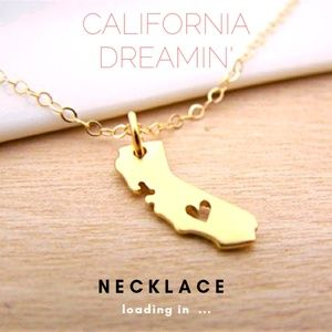 State of California Love necklace.